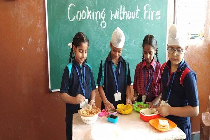 Khalsa College Public School-Cooking Without Fire