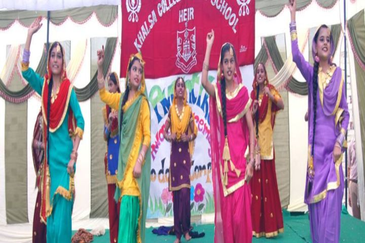 Khalsa College Public School-Dance Performance