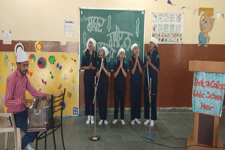 Khalsa College Public School-Group Song