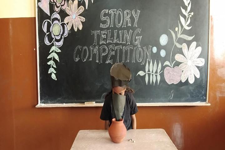 Khalsa College Public School-Story-Telling