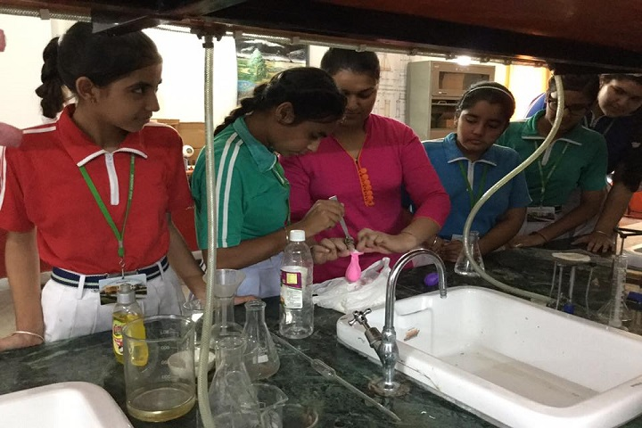 Kids Kingdom Convent School-Science Lab