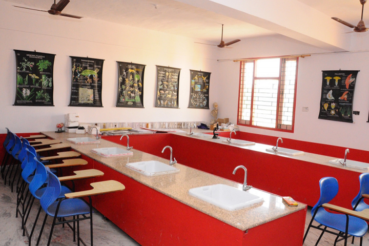 Kids Kingdom Convent School-Biology Lab