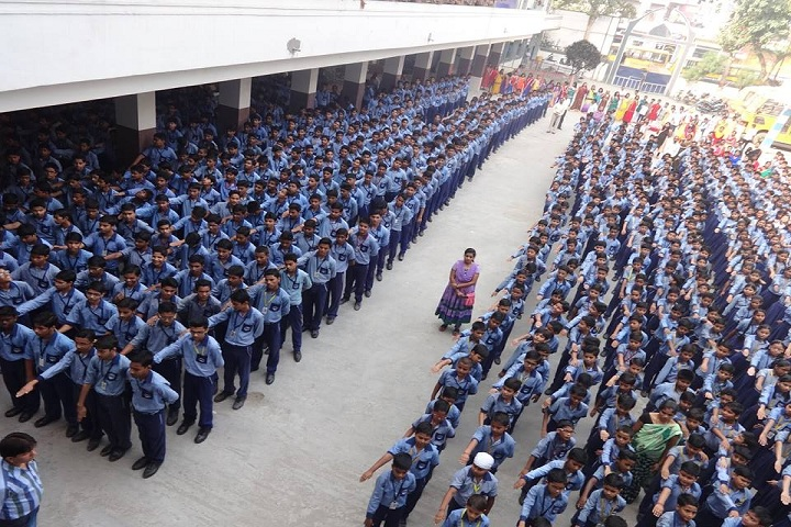 Ishan International Public School-Assembly