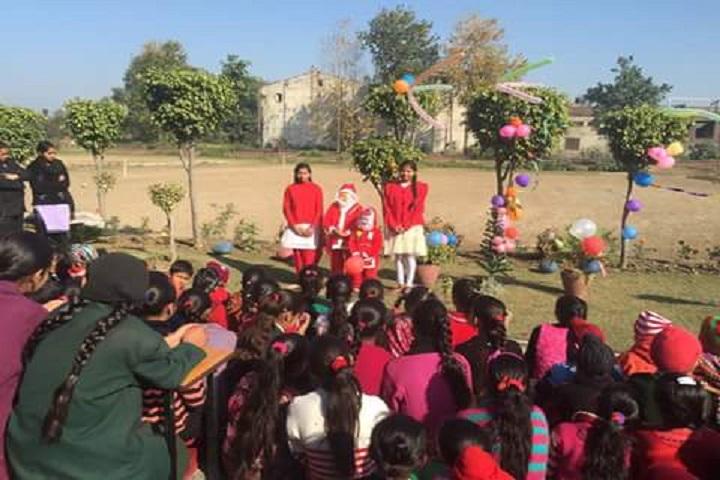 Lakshmi Devi Sahni School-Christmas-Celebration