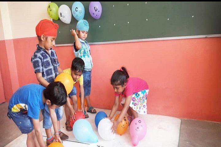 Lotus Valley Senior School-Kids area