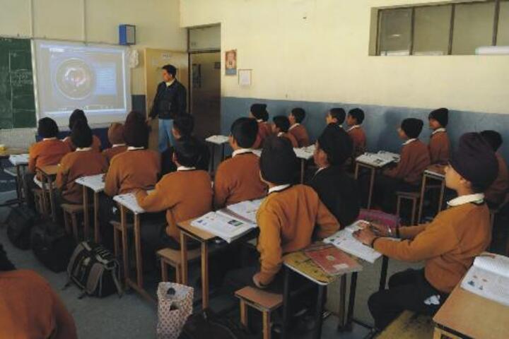 MR Citi Public School-Classroom