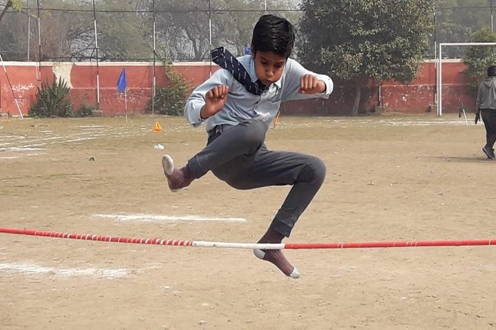 MG Convent Senior Secondary School-Long Jump