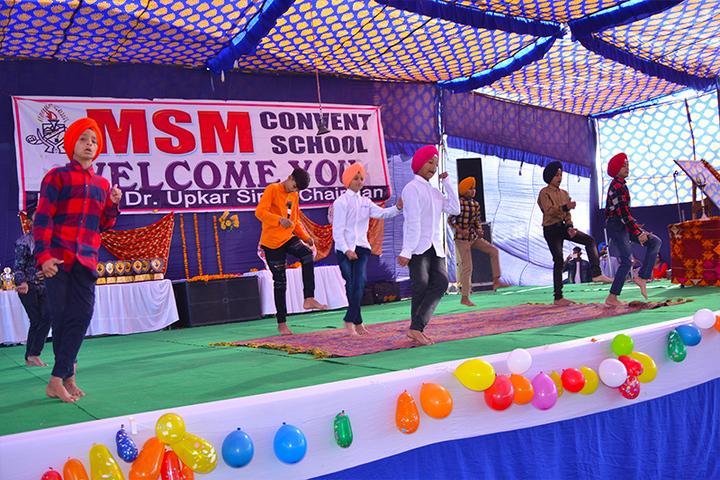MSM Convent School-Dance