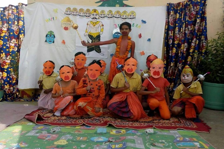 Maa Sarswati Public School-Face-Painting