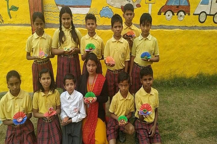 Maa Sarswati Public School-Yellow Day