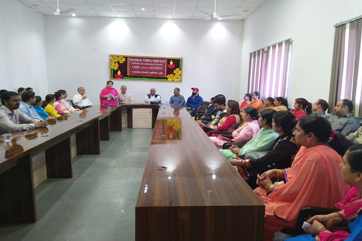 Madhav Vidya Niketan Senior Secondary School-Seminar