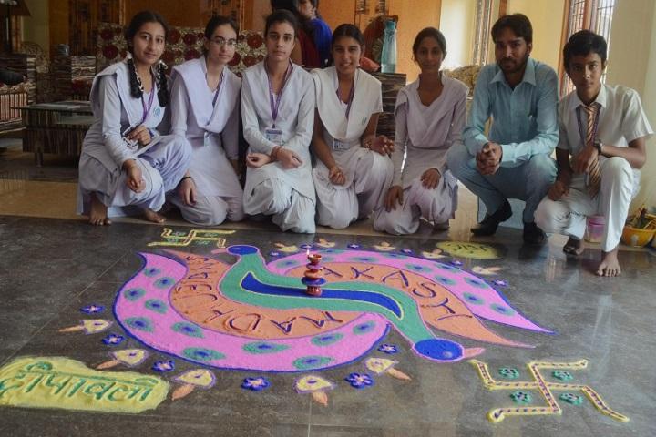 Madhuban Vatika Public School-Diwali Celebrations