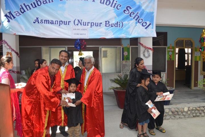 Madhuban Vatika Public School-Graduation Cermony
