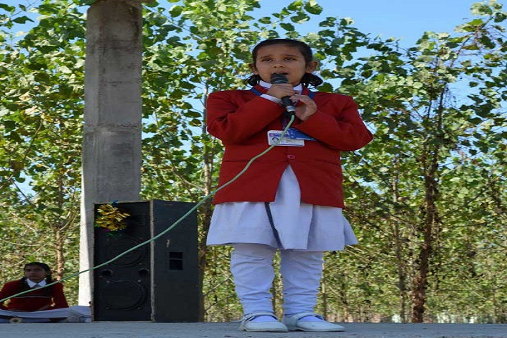 Madhuban Vatika Public School-Student Speech