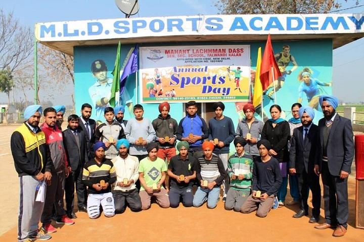 Mahant Lachhman Dass Senior Secondary School-Sports Academy