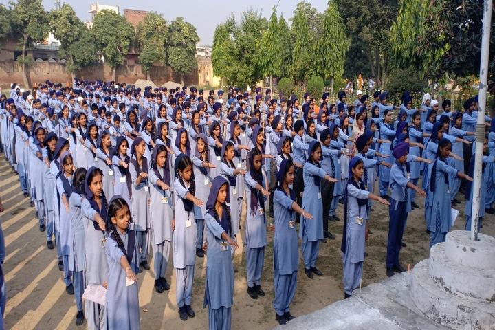 Maharaja Ranjit Singh Public Senior Secondary School-Morning Assembly