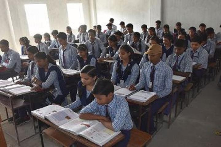 J P Central School-Classroom