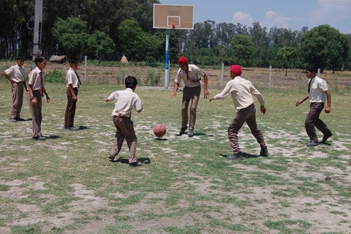 Maharana Partap Adarsh Vidyalaya-Basketball Court