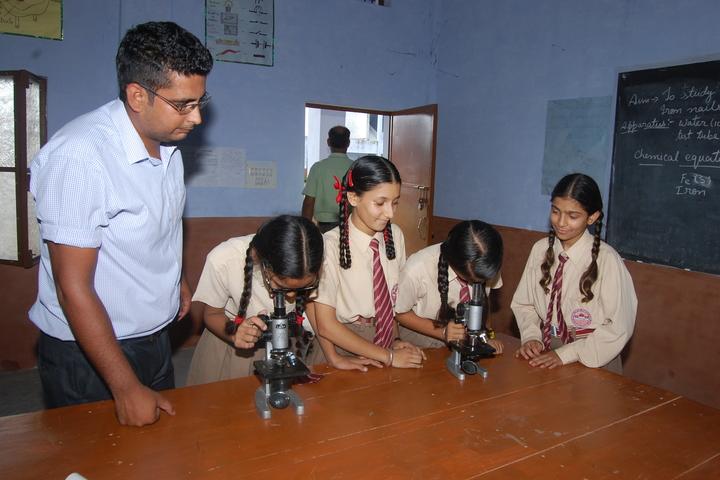 Maharana Partap Adarsh Vidyalaya-Biology Lab