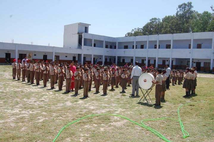 Maharana Partap Adarsh Vidyalaya-Morning Assembly