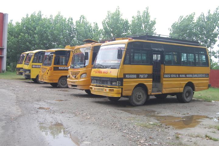 Maharana Partap Adarsh Vidyalaya-Transport