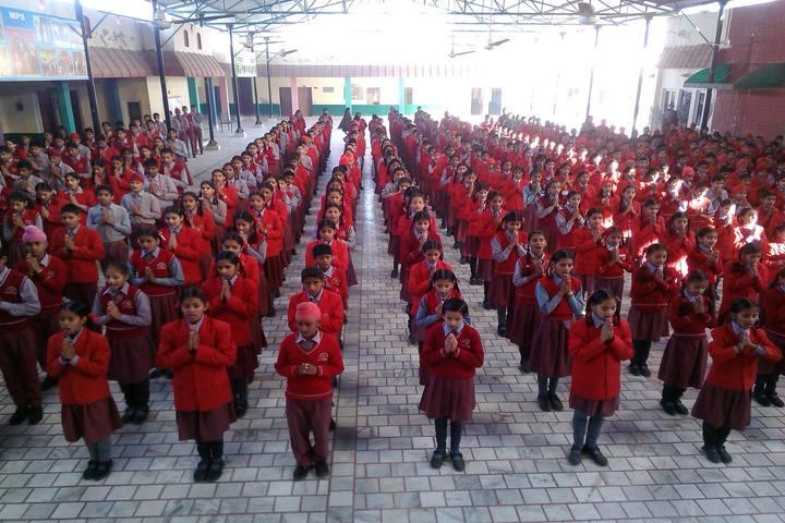 Mahindra Public School-Morning Assembly