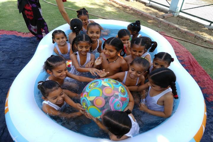Mahindra Public School-Pool Activity