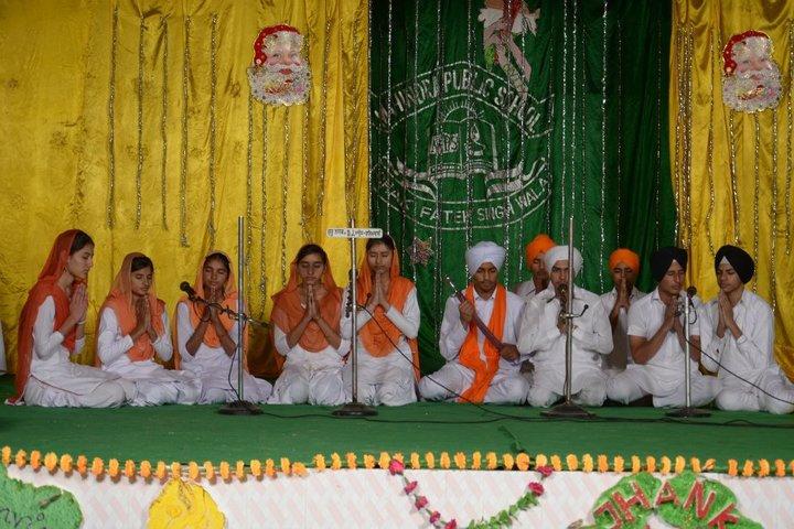 Mahindra Public School-Singing