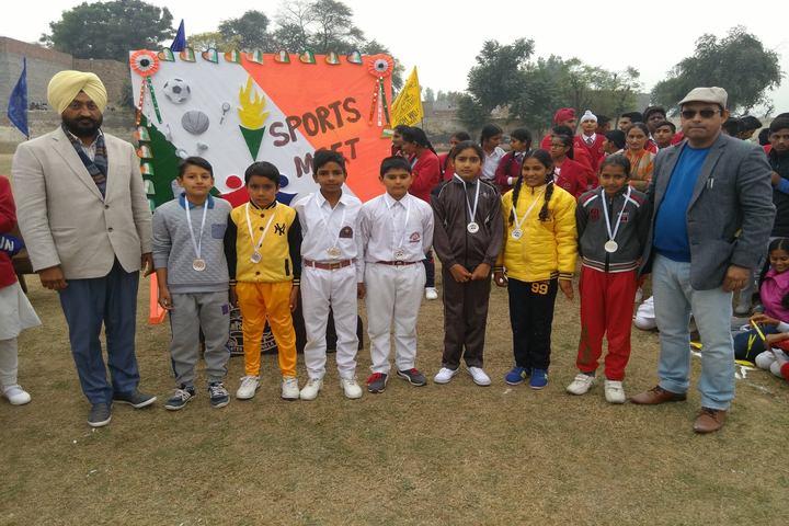 Mahindra Public School-Sports Meet