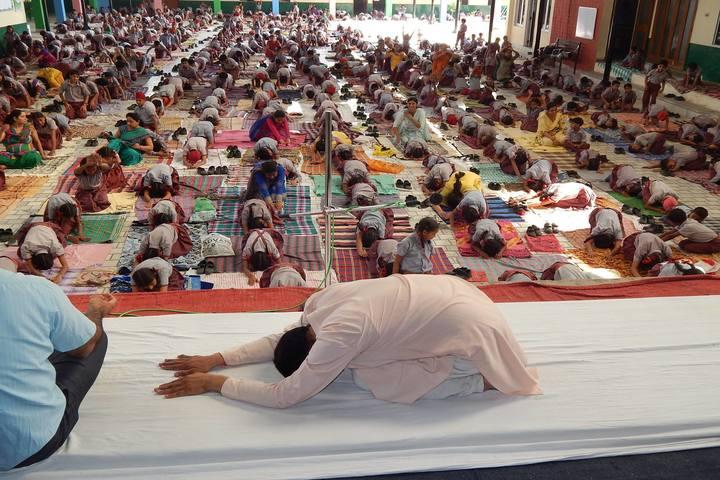 Mahindra Public School-Yoga