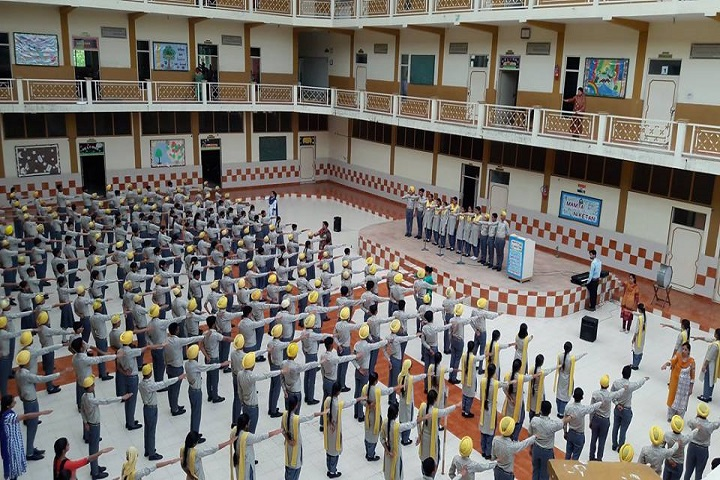 Mamta Nikethan Convent School-Assembly