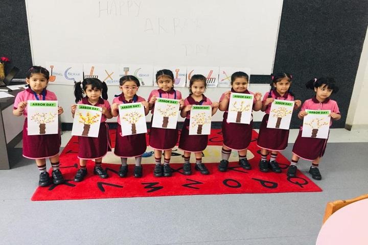 Manav Rachna International school-Arbor day