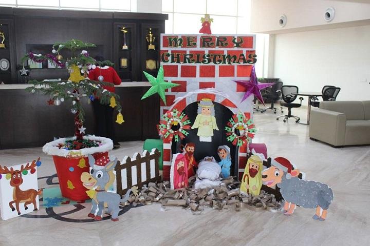Manav Rachna International school-Christmas Celebrations