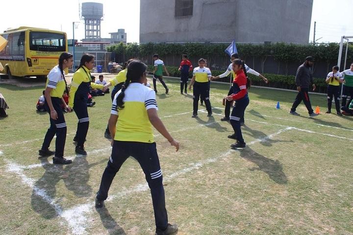 Manav Rachna International school-Play Area