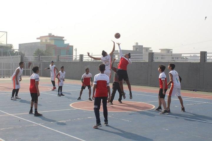 Manav Rachna International school-Play area1