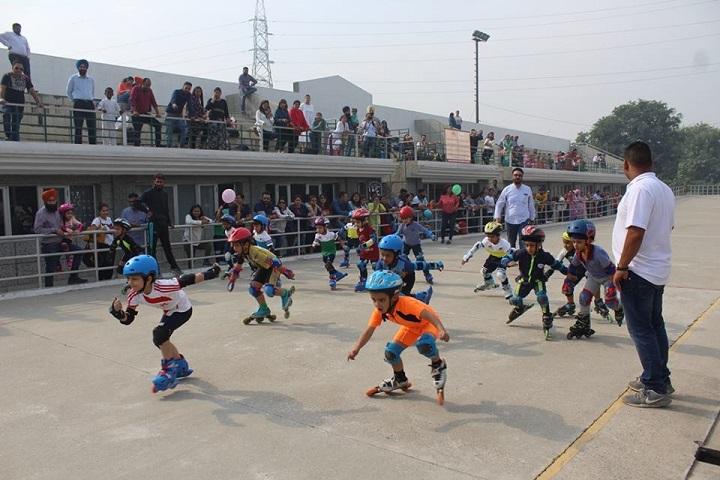 Manav Rachna International school-Skating