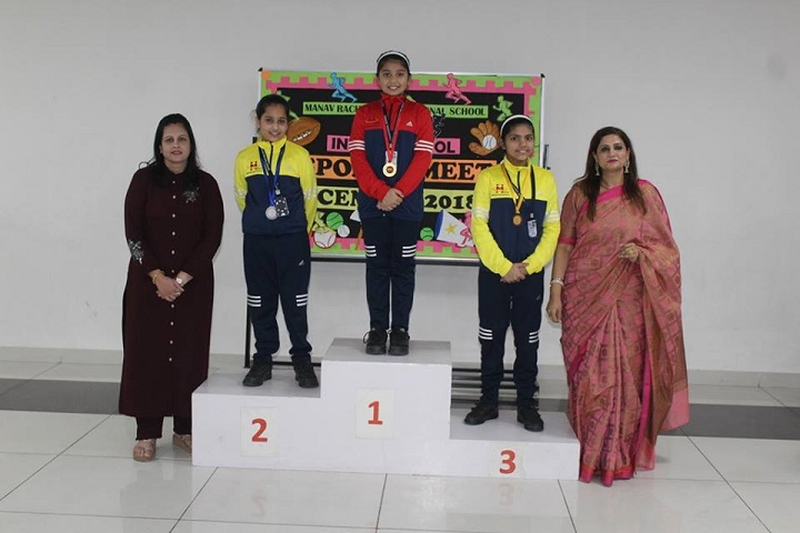 Manav Rachna International school-Sports Champions