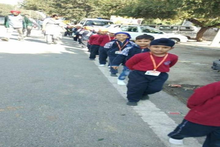 Manav Sehyog School-Rally