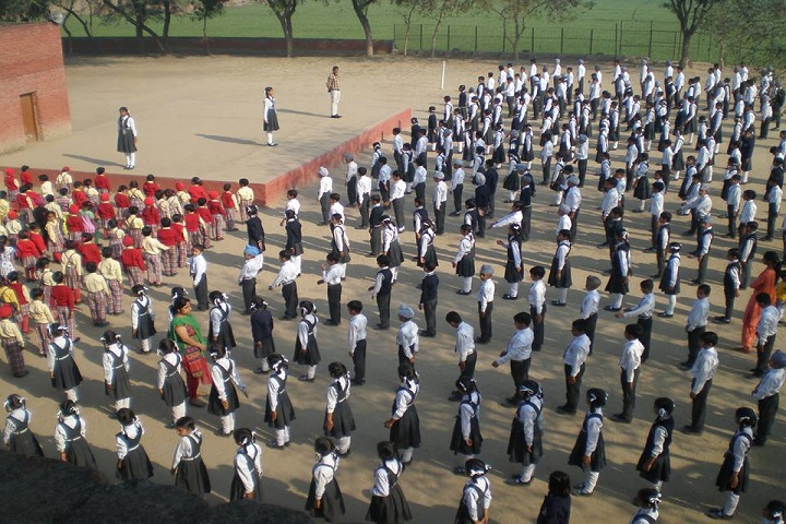 Mata Bainti Devi Convent School-Assembly