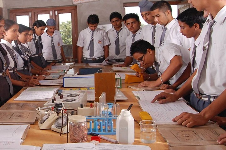 Mata Bainti Devi Convent School-Physics lab
