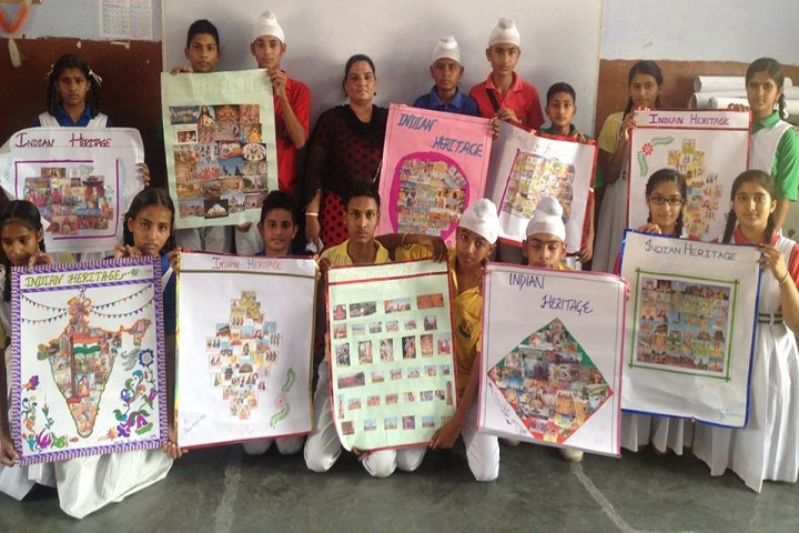 Mata Bainti Devi Convent School-Social Projects