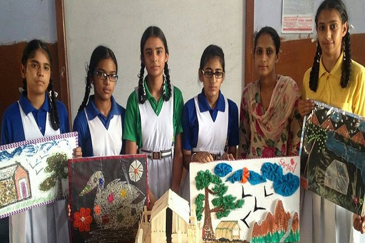 Mata Bainti Devi Convent School-Students projects