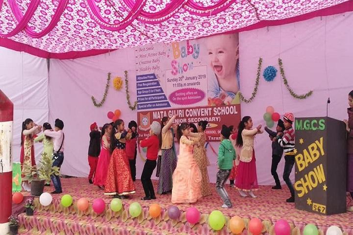 Mata Gujri Convent School-Baby Show Event