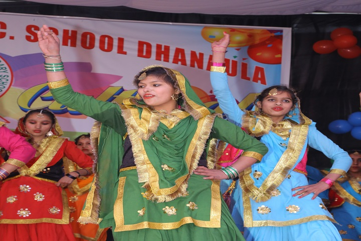 Mata Gujri Senior Secondary School-Dance performance