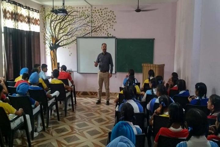 Mata Sahib Kaur Public School-Classroom