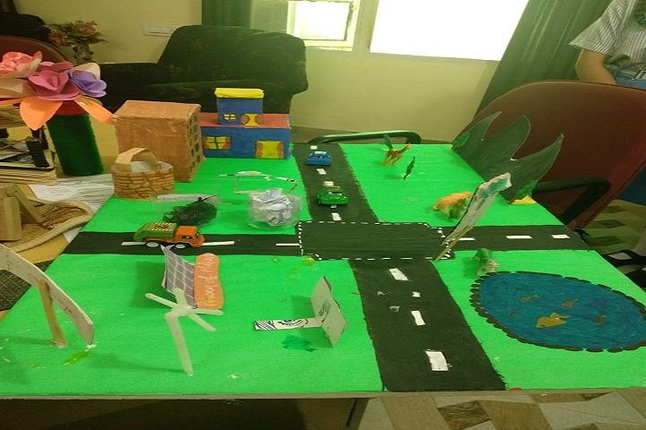 Mata Sahib Kaur Public School-Student Projects