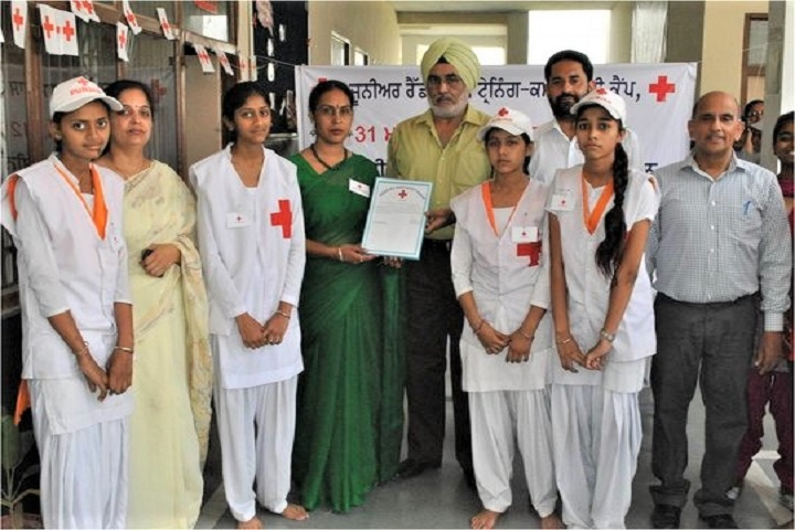 Mata Sahib Kaur Public School-Medical Camp