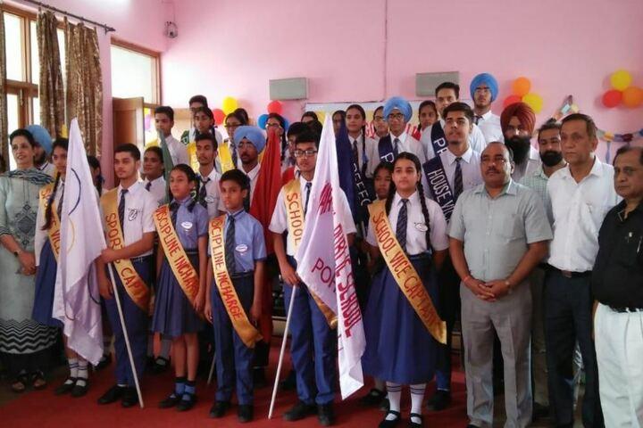 Maya Devi Goel Public School-Investiture Ceremony