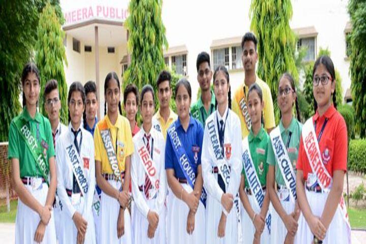 Meera Public School-Council Members