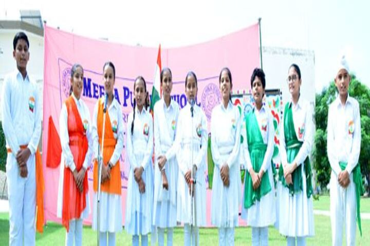 Meera Public School-Independence Day